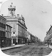 St Lawrence Hall C 1860 The Building Was Erected In 1854 Following Great Fire Of Toronto 1849