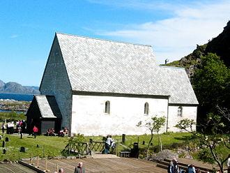 Flora, Norway - Kinn Church