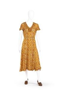 Klänning tillhörande Irma von Geijer, f. von Hallwyl, från 1930-talet - Hallwylska museet - 89093.tif
