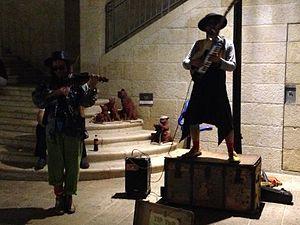 Klezmer - Klezmer musicians in Jerusalem