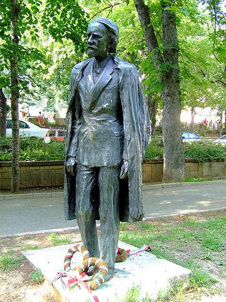 Zoltán Kodály - Statue of Kodály at Szent István square in Pécs, Hungary