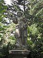 Kolonada Klatovy socha Alegorie podzimu.JPG