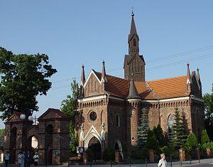 Kalisz Region - Image: Konin kosciol sw andrzeja