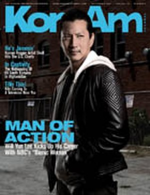 Will Yun Lee - Lee on the cover of KoreAm in 2007