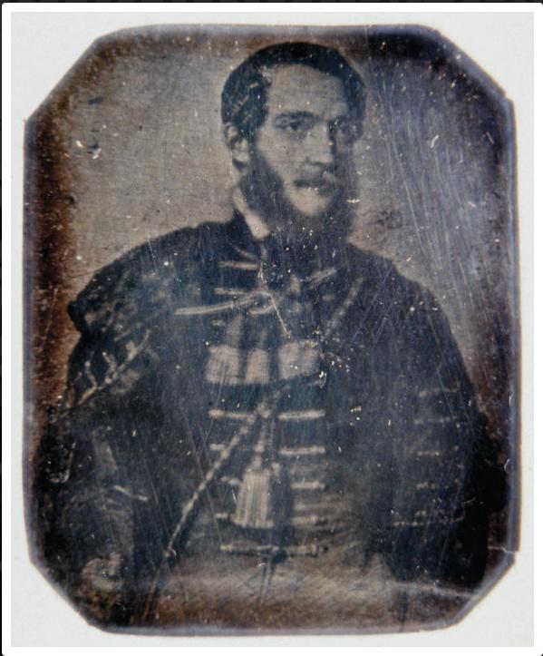 Kossuth photograph 1847