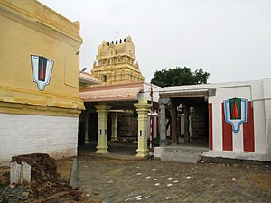 Appakkudathaan Perumal Temple - Image of the first precicnt