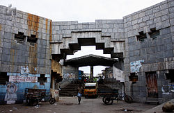 Entrance of Koyambedu Market