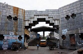 Koyambedu - Entrance of Koyambedu Market