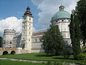Przemyśl County - Image: Krasiczyn castle 3