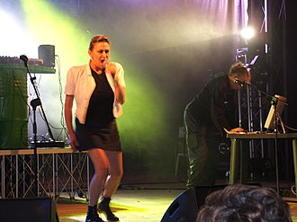 Krisma - Krisma performing in Pasian di Prato, 2007.