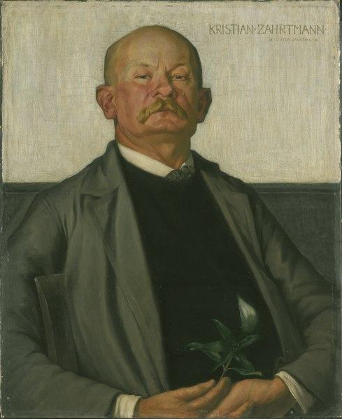 File:Kristian Zahrtmann,the Danish Painter (Johan Rohde) - Nationalmuseum - 18625.tif