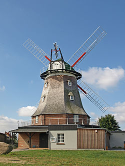 Windmill in Kröpelin