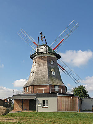 Kröpelin - Windmill in Kröpelin