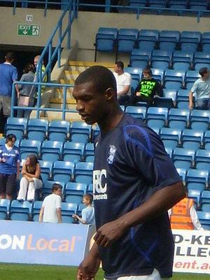 Krystian Pearce - Pearce warming up for Birmingham City, July 2008