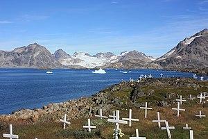 Kulusuk - The village cemetery