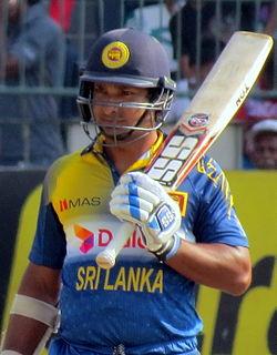 Kumar Sangakkara Sri Lankan cricketer