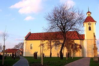 Kunovice (Uherské Hradiště District) - Church of SS Peter and Paul