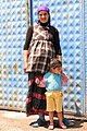 Kurdish Woman with Child - In Both Senses - Outside Dogubayazit - Turkey (5804701018).jpg