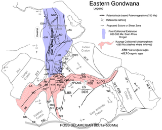 East African Orogeny The main stage in the Neoproterozoic assembly of East and West Gondwana