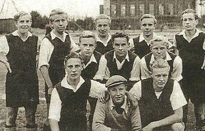 FC Kuusysi - Upon Pallo A boys (U 19) medal winning team from 1948.