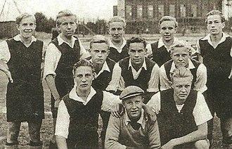 FC Kuusysi - Upon Pallo A boys (U 19) medal winning team from 1948.