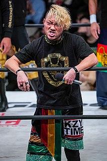 Kzy Japanese professional wrestler