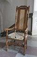 Länstol, 1700 cirka - Skoklosters slott - 103793.tif