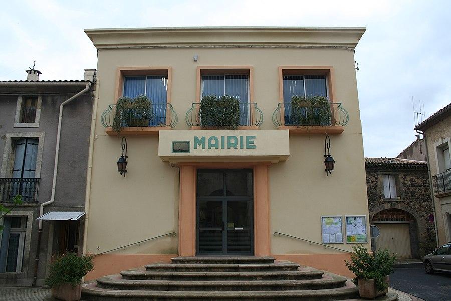 Lézignan-la-Cèbe (Hérault) - mairie.