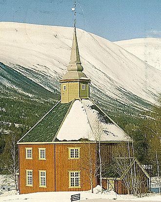 Lønset Church - Image: Lønset kirke