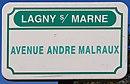 L3329 - Plaque de rue - avenue André Malraux.jpg