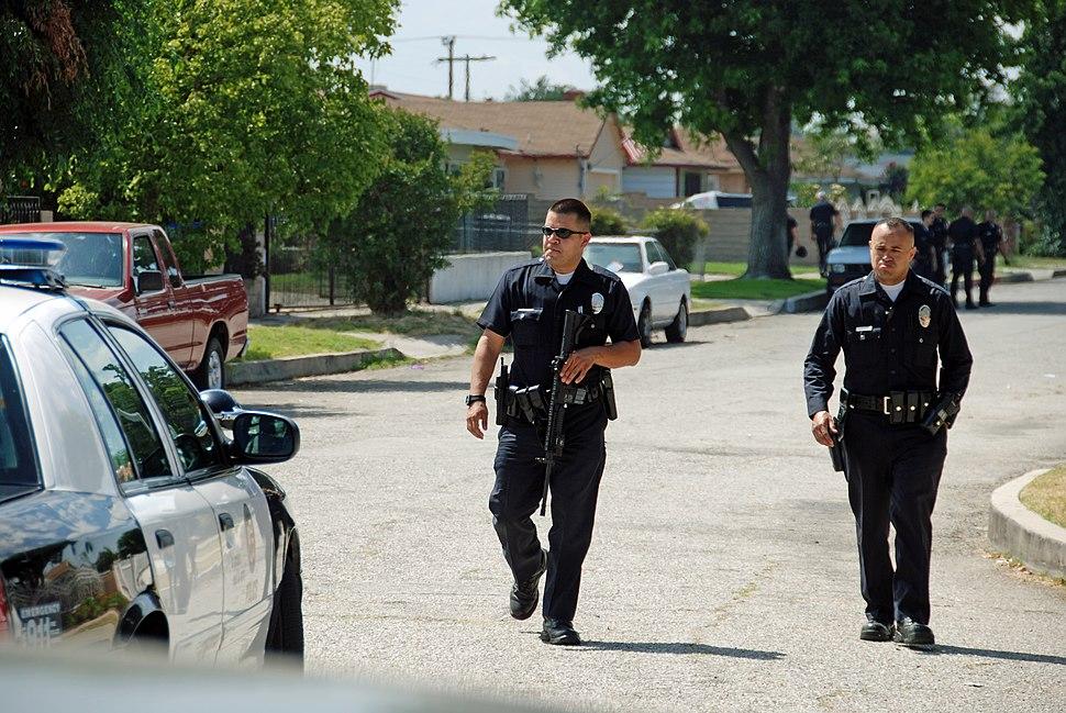 LAPD Mission Hills