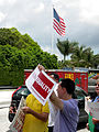 LGBT Activists in Doral Protest U.S. Sen. Marco Rubio After Gay Couples Left Out of Immigration Plan 6 (8794694649).jpg