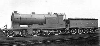 LSWR F13 class class of 5 four-cylinder 4-6-0 locomotives