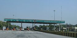 Pallikonda Toll Plaza on NH 46