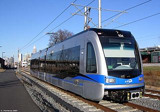 Siemens S70 low-floor light rail vehicle