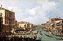 La Régate sur le Grand Canal