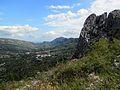 La Vall de Gallinera i penyes de la serra Foradada.JPG