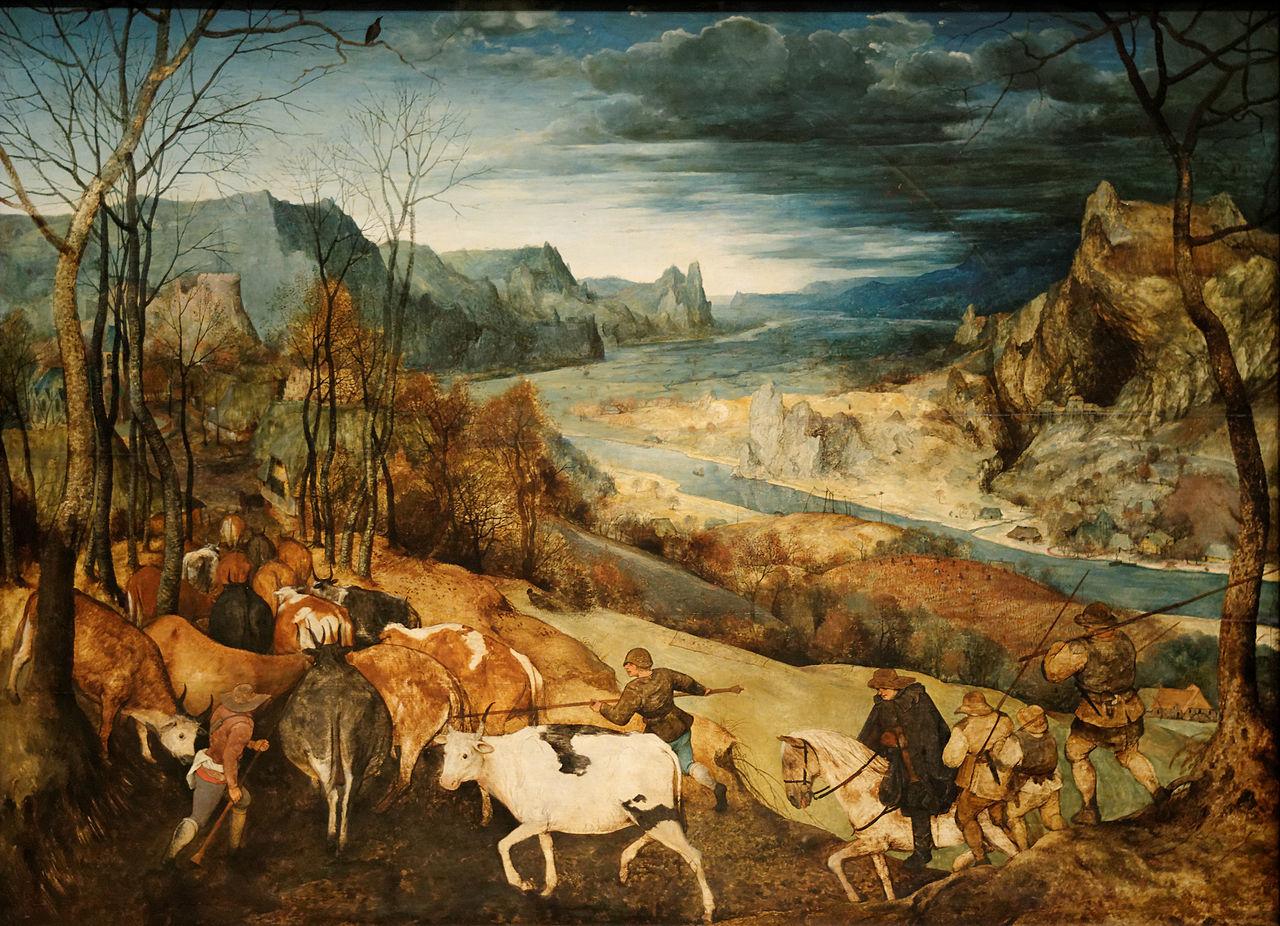 Je viens de lire - Page 16 1280px-La_rentr%C3%A9e_des_troupeaux_Pieter_Brueghel_l%27Ancien