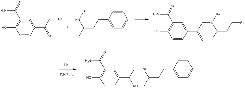 File:Labetalol synthesis.png