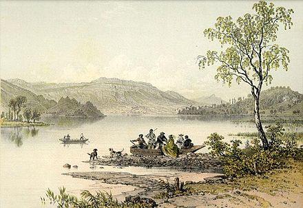 Lac d'Aiguebelette (73) 440px-Lac_aiguebelette_1864