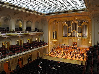 Laeiszhalle - View of the Großer Saal (2014)