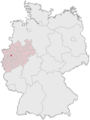 Lage der kreisfreien Stadt Mülheim an der Ruhr in Deutschland.png