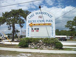 Lake Panasoffkee, Florida CDP in Florida, United States