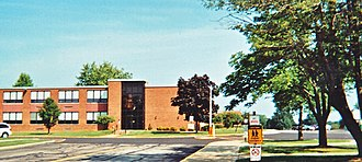 Stow-Munroe Falls High School - The Lakeview building in 2010, which now functions as an intermediate school