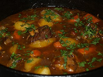 Mutton curry - Image: Lamb Curry Pot
