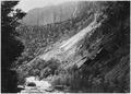 Landslides. West side of Virgin River, one half mile above checking station. - NARA - 520456.tif