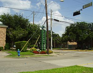 Gulfton, Houston - The Lantern Village Apartments, formerly Colonial House Apartments, became well-known through television advertisements before experiencing bankruptcy, foreclosure, and a name change