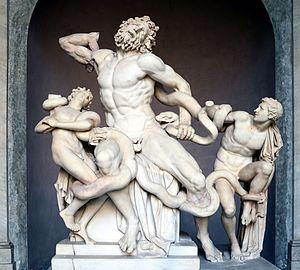 Laocoonte y sus hijos