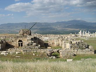 Laodicea on the Lycus - West Baths