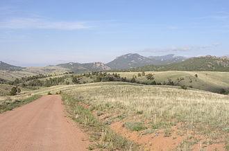 Laramie Mountains - Laramie Mountains close to Esterbrook